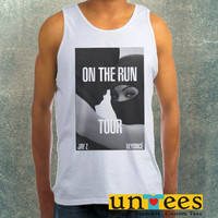 Beyonce and Jay Z On The Run Tour Clothing Tank Top For Mens