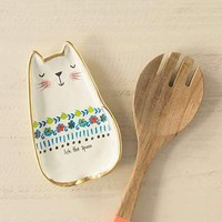 Lick The Bowl Cat Spoon Rest By Natural Life