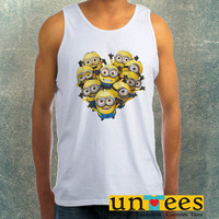Funny Minions Clothing Tank Top For Mens