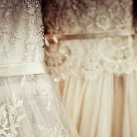 Couture Wedding Dresses Fine Art Print by ParisPhotographer