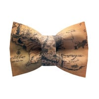 Map of middle earth, Lord of the rings Bow-tie, Made by birties