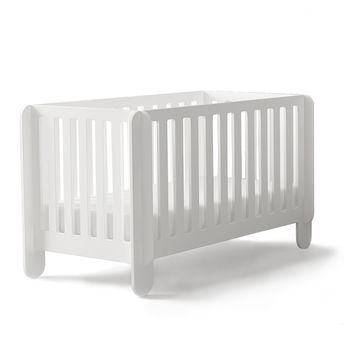 OEUF NYC: Elephant cot bed in white