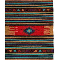 "Hand Woven Southwest Style Accent Rug, 20"" X 40"" (HAZT7)"