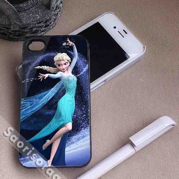 Elza Disney Frozen for iPhone 4/4s, iPhone 5, 5s, 5c Case, Samsung Galaxy S3, S4 Case