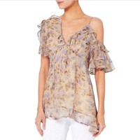 ZIMMERMANN Shoulder - (Us 4-6) Blouse Size 4 (S)