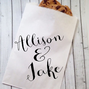 Bridal Shower Favor Bags, Wedding Shower Favors Candy Bags, Treat Bags, Shower Gifts, Rustic Bridal Shower Decorations
