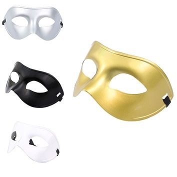 Hot Trendy Masquerade Half Face Mask for Party Costume Ball Fancy Dress Costume for Women/Men
