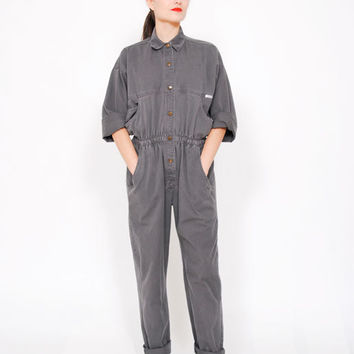 SALE . 30% OFF . 80s Jumpsuit . Vintage Workwear . 1980s Coveralls