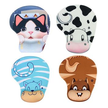 Lovely Animal Mouse Pad with Wrist Rest
