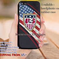 Usa Soccer America Flag iPhone 6s 6 6s+ 5c 5s Cases Samsung Galaxy s5 s6 Edge+ NOTE 5 4 3 #sport dl12