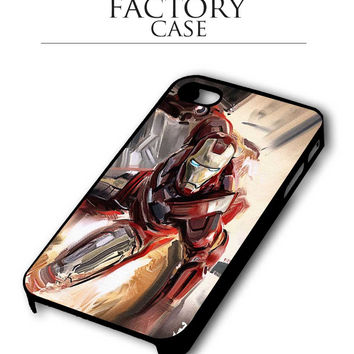 ironman sketch iPhone 4, iPhone 4s, iPhone 5, iPhone 5s, iPhone 6, iPhone 6+,iPod 4, iPod 5 case