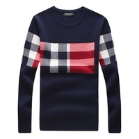 Men's Thick Pullover Sweater