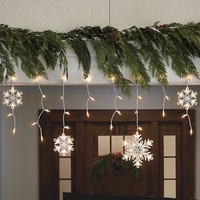 150 Count Icicle and Snowflake Lights