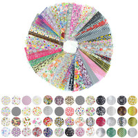 52 Sheet 20cm*4cm Mix Color Transfer Foil Nail Art Flower Design Sticker Decal For Polish Care DIY Nail Art WY209
