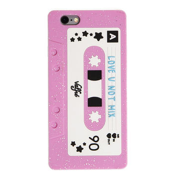 Love U Not Mixtape 3D iPhone 6+/6S Plus Case