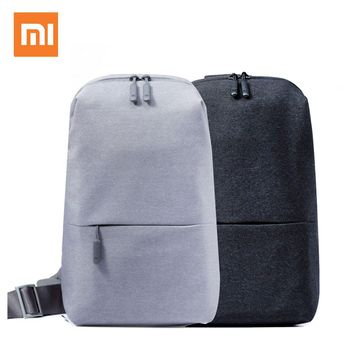 Xiaomi Mi Backpack Urban Leisure Chest Pack Bag For Men Women Small Size Shoulder Type Unisex Rucksack Backpack Bags Colour