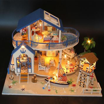 Miniatura  Doll House DIY kit mini villa Legend Of The Blue Sea 13844