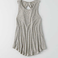 AEO Twist Back Tank, White