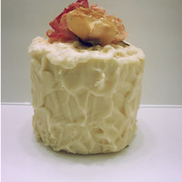 Wax Dipped Toilet Paper Cake in Buttercream Scent