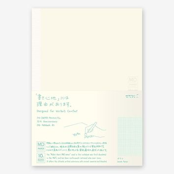 10th Anniversary MD Notebook Graph Paper - Omoi Zakka Shop