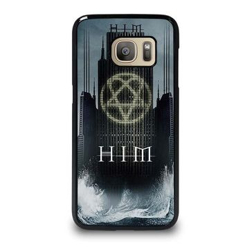 HIM BAND HEARTAGRAM Samsung Galaxy S7 Case Cover