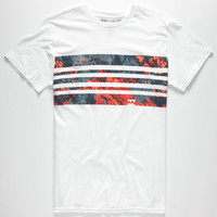 Billabong Spindrift Mens T-Shirt White  In Sizes