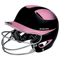 Easton Natural Two-Tone Senior Batting Helmet with Mask