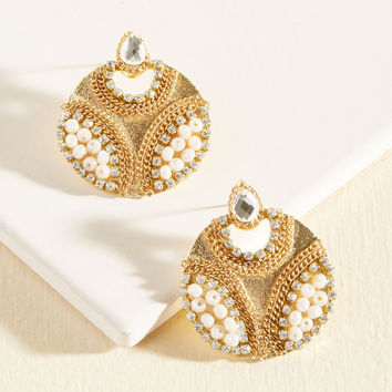 Beckoning Brilliance Earrings | Mod Retro Vintage Earrings | ModCloth.com