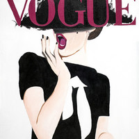 Vogue Framed Art Print by Alexa L. Epstein