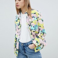ASOS DESIGN Printed Floral Jacket at asos.com