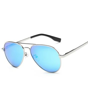 """Maverick"" Kids Aviator Sunglasses UV400"