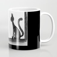 Cat in the window Mug by Josep Mestres