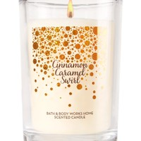 Medium Candle Cinnamon Caramel Swirl
