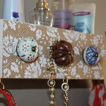 Box shelf, Jewelry/accessory holder, wall organizer