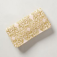 Rococo Clutch by Anthropologie Neutral Motif One Size Clutches