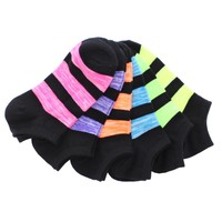 Triple Stripe Low Cut Socks (6 Pack Special)