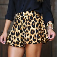 Seeing Spots Shorts: Black | Hope's