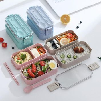 Microwave Lunch Box Storage Container Portable