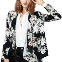 Lily Love Draped Blazer