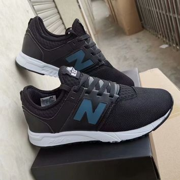 """""""New Balance 247"""" Unisex Casual Fashion N Words Sneakers Couple Running Shoes"""
