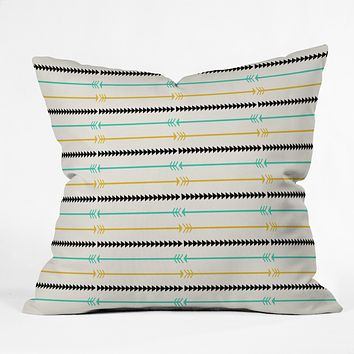 Allyson Johnson Arrow Pattern Throw Pillow