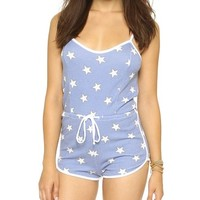 Star Spangled Pool Party Romper