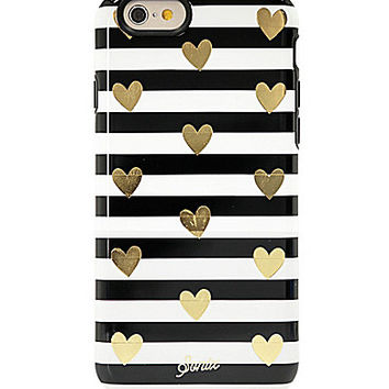 Sonix Heart Stripe Gold iPhone 6 Case | Dillards.com