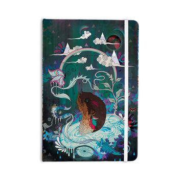 "Mat Miller ""Delicate Distraction"" Otter Teal Everything Notebook"