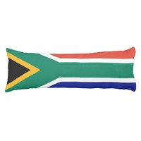 South Africa flag Body Pillow