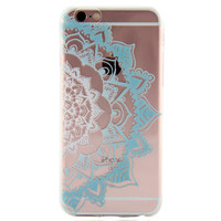 Newest Customized Blue Lace Case Cover for iPhone 7 7 Plus & iPhone 5s se & iPhone 6 6s Plus + Gift Box-462