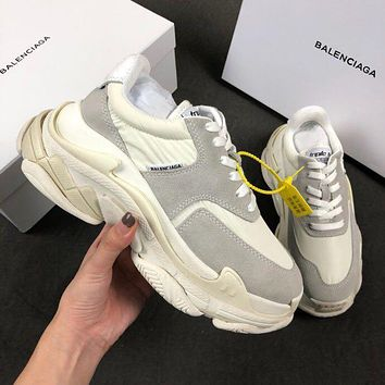 Balenciaga Triple-S Xia Gu jogging shoes-13