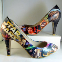 Star Wars Heels  Made To Order by custombykylee on Etsy