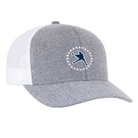 Lacrosse Unlimited Star Jumpman Grey Mesh Back Hat