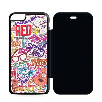 Taylor Swift Collage Flip Case iPhone 6 | iPhone 6S | iPhone 6S Plus  Case